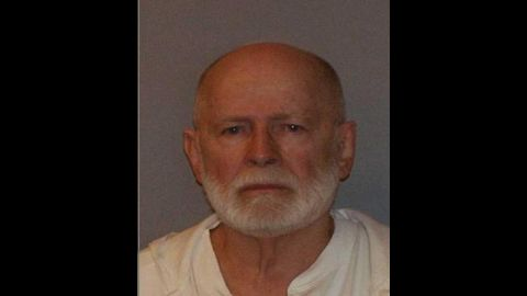 """James """"Whitey"""" Bulger, the reputed former head of Boston's Winter Hill Gang, was convicted on August 12, 2013 of racketeering and 11 counts of murder."""