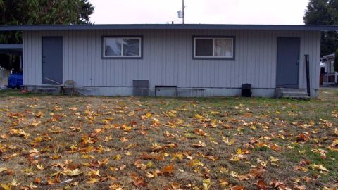 Malvo had lived with Muhammad in this duplex in Tacoma, Washington, prior to the shooting. He also went by the alias of John Lee Malvo.