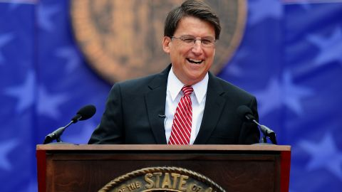 North Carolina Gov. Pat McCrory says his new executive order protects privacy and equality.