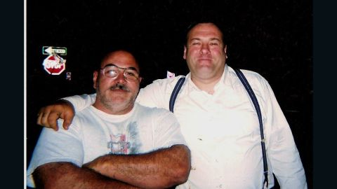 """When the news broke on Wednesday that """"The Sopranos"""" star James Gandolfini died at 51, tributes poured in around the world, including CNN iReport. """"So long, paisan"""" was how Orlando, Florida, resident Pat Tantalo chose to say goodbye to the friend he met on the set of the 2006 film """"Lonely Hearts."""" """"When Jimmy arrived, he was bigger than life. He shook everyone's hands and made sure he learned everyone's name. We were just finishing a production meeting and we introduced ourselves. We instantly connected. He planted his huge mitts on my shoulders and called me a little bull."""""""