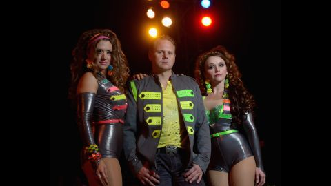 """Wallenda with his sister Lijana, left, and his wife, Erendira, at Circus Sarasota in February 2013 in Florida. Nik and Lijana are members of the famous Flying Wallendas, founded by great-grandfather Karl in the 1920s. <a href=""""http://www.cnn.com/2012/06/13/us/gallery/wallendas/index.html"""">See the Wallenda family through the years.</a>"""