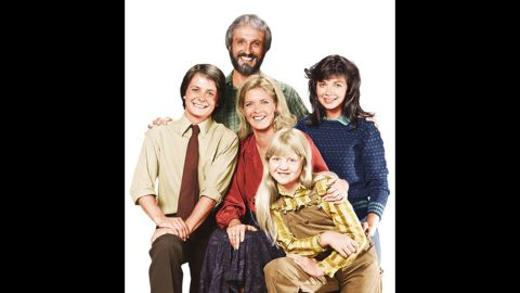 """The cast of NBC's """"Family Ties."""""""