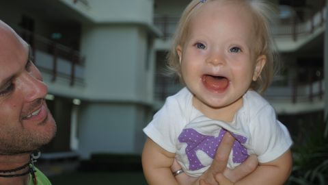 """Jack Barr Jr. shared the story of coming to terms with his daughter Marley's Down syndrome diagnosis on <a href=""""http://ireport.cnn.com/docs/DOC-990522"""">CNN iReport</a>. He lives in Bangkok, Thailand, where he teaches with his wife, Jana. Click through to see more pictures of Marley and read more about her."""