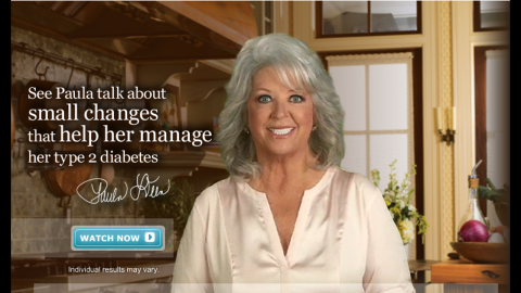 """Deen was a paid spokeswoman for Novo Nordisk, the company that makes the diabetes drug Victoza. The relationship <a href=""""http://eatocracy.cnn.com/2012/01/17/paula-deen-confirms-that-she-has-type-2-diabetes-unveils-partnership-with-drug-company/"""">came under fire from fans</a> when it was revealed that Deen had known of her own diabetes diagnosis while still promoting fatty, sugary recipes on air and in print. The company announced that it is suspending its relationship with Deen."""