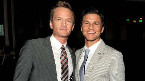 """""""How I Met Your Mother"""" star Neil Patrick Harris, left, and David Burtka  married in Italy in September 2014. The couple, who are parents of twins Gideon Scott and Harper Grace, announced their engagement in 2011."""