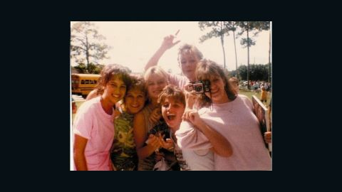 Wendy Sachs, left, posed with friends on their last day of middle school in 1986. Has it gotten any easier since, she wondered?