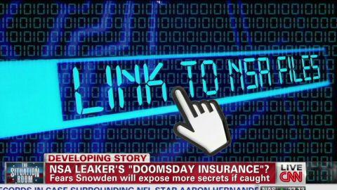 tsr dnt starr snowden doomsday insurance_00002224.jpg