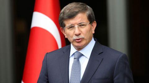 Turkish Foreign Minister Ahmet Davutoglu welcomed new membership talks with the E.U.