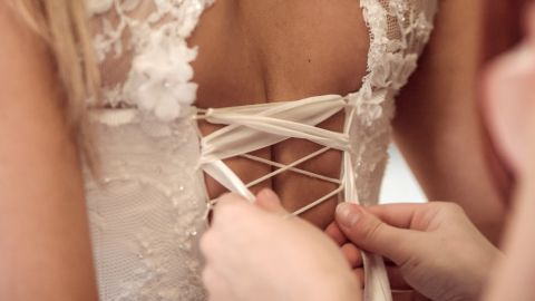 Squeezing into modern-day corsets.