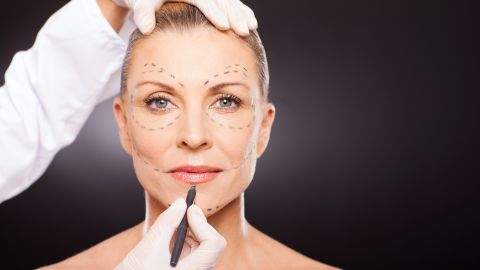 Turning to Botox to look younger.