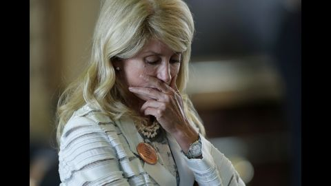 Sen. Wendy Davis attempted to block a Texas abortion bill that would have greatly restricted abortions in the state, by attempting a 13-hour filibuster. The attempt fell short by about three hours when the chairman ruled she had gone off topic.