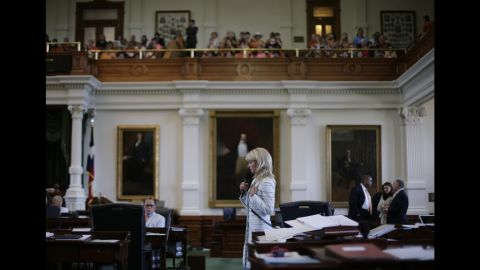 While Davis filibuster attempt ended shortly before midnight, it wasn't until 3 a.m. that Lt. Gov. David Dewhurst declared the bill dead and the special session over.