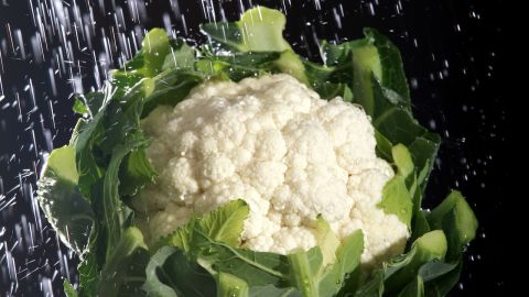 Avoid microwaving cauliflower to preseve vitamins and phytonutrients that have been shown to help lower cholesterol and fight cancer.