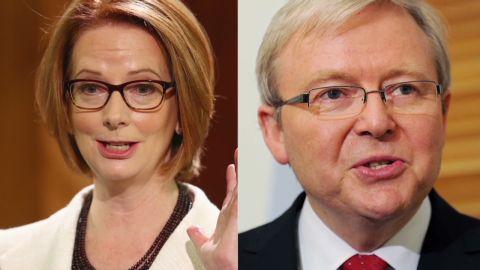 Julia Gillard Kevin Rudd Split