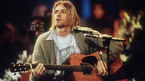 """Even though Kurt Cobain died 21 years ago, many of a certain age can still recall the exact place they were in when they learned the <a href=""""http://www.cnn.com/2009/SHOWBIZ/Music/04/08/kurt.cobain.anniversary/index.html?iref=allsearch"""" target=""""_blank"""">Nirvana frontman had been found dead at 27.</a> As <a href=""""http://www.rollingstone.com/music/news/kurt-cobain-aa967-aa994-19940602#ixzz2XSJuFD8J"""" target=""""_blank"""" target=""""_blank"""">Rolling Stone</a> explains, """"People looked to Kurt Cobain because his songs captured what they felt before they knew they felt it,"""" and that remains true even after his death -- which <a href=""""http://www.nbcnews.com/id/4645881/ns/dateline_nbc-newsmakers/t/more-questions-kurt-cobain-death/#.Ucyy9JzNkWU"""" target=""""_blank"""" target=""""_blank"""">some aren't convinced was a suicide</a>, as authorities ruled it to be."""