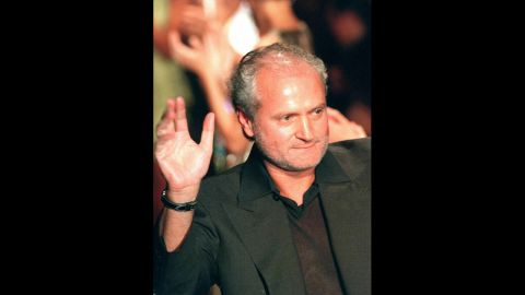 """Fashion designer Gianni Versace was fatally shot on the steps of his Miami Beach, Florida, mansion on July 15, 1997. <a href=""""http://www.cnn.com/US/9712/30/versace.presser/index.html?iref=allsearch"""" target=""""_blank"""">Police believe a 27-year-old named Andrew Cunanan killed</a> the 50-year-old head of the renowned fashion empire, although they couldn't uncover a motive. Cunanan took his own life on a nearby houseboat a week after Versace's death."""