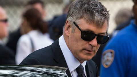 """In June 2013, Baldwin <a href=""""http://www.cnn.com/2013/06/28/showbiz/alec-baldwin-twitter-war/index.html"""">once again took to Twitter</a> to slam a reporter who claimed that Baldwin's wife, Hilaria, was tweeting during the funeral of """"The Sopranos"""" star James Gandolfini."""