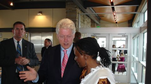 An NGO worker visited Matau when Trent was 18 and made the young mother realize that she could still fulfil her dreams. Today, aged 53, Trent has three degrees, including a PhD, and is currently studying toward her fourth. <br />Trent's remarkable story has inspired many, including former U.S. president Bill Clinton.
