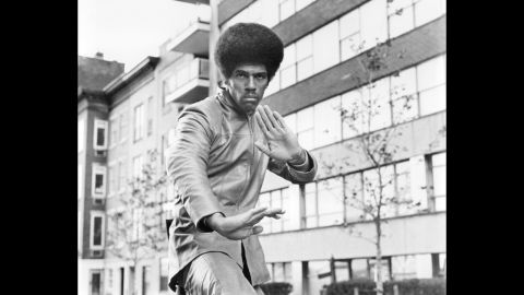"""<a href=""""http://www.cnn.com/2013/07/01/showbiz/jim-kelly-death/index.html?hpt=hp_t2"""">Jim Kelly</a>, a martial artist best known for his appearance in the 1973 Bruce Lee movie """"Enter the Dragon,"""" died on June 29 of cancer. He was 67. After a brief acting career, he became a ranked professional tennis player on the USTA senior men's circuit. Here he appears in the 1974 film """"Three the Hard Way."""""""