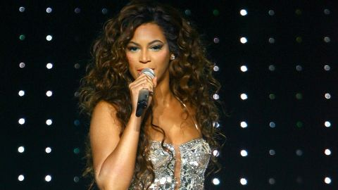"""Beyonce, seen here at New York's Madison Square Garden in 2007, <a href=""""http://marquee.blogs.cnn.com/2011/03/02/beyonce-i-already-donated-that-gadhafi-money/"""" target=""""_blank"""">donated the money</a> that she received for performing at a private New Year's Eve party on the Caribbean island of St. Barts in 2009. The party was hosted by family members of then-Libyan leader Moammar Gadhafi."""
