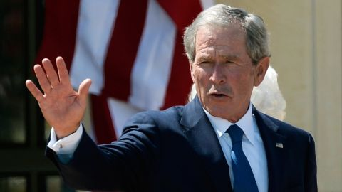 A New York man was arrested Friday for allegedly threatening to kill former President George W. Bush.