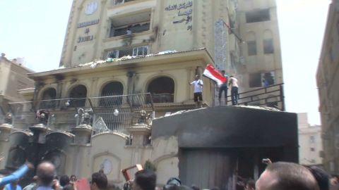 sayah lok muslim brotherhood building attacked_00012321.jpg
