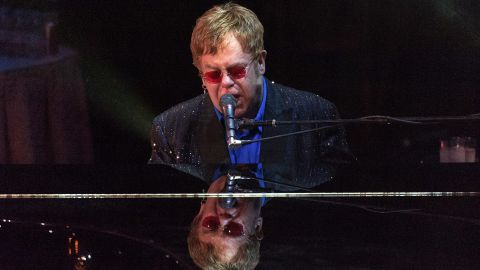 """Sir Elton John <a href=""""http://usatoday30.usatoday.com/life/books/news/story/2012-07-17/elton-john-love-is-the-cure-aids-book/56261968/1"""" target=""""_blank"""" target=""""_blank"""">told USA Today</a> that he swore off drugs and alcohol in 1990. He said, """"If I ever find myself in a situation where there are drugs, I can smell the cocaine. I can feel it in the back of my throat, that horrible feeling of taking the first hit of cocaine. And I leave."""""""