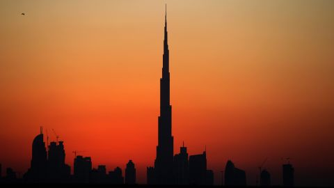 The Burj Khalifa in Dubai is the world's tallest building at 828 meters. It received its spire in October 2009. Two months later, a massive debt crisis slammed the Middle Eastern metropolis.
