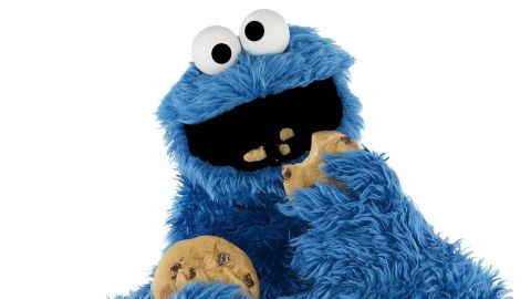 """""""Om nom nom nom"""" -- <strong>Cookie Monster</strong>'s voracious appetite for his favorite chocolate chip treats have endeared him to viewers since """"Sesame Street's"""" first season. He's even managed to fit in teaching some important lessons: Thanks to him, generations of kids have grown up knowing that """"C"""" is for cookie."""