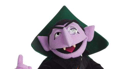 """Nothing can interrupt the <strong>Count </strong>when he's counting. Whether counting from one to 10 or up to a billion (as he did in 2013 to celebrate """"Sesame Street's"""" 1 billion YouTube views), the Count is happiest with numbers. He can now count over 40 years of appearances on """"Sesame Street"""" since his debut in 1972."""