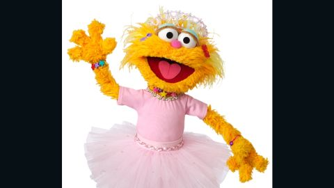 """<strong>Zoe</strong> broke into """"Sesame Street's"""" largely male Muppet cast in 1994, becoming the show's stand-out female character. As she appears to be about the same age as Elmo, the two often spend time together. They are understood to be best friends."""