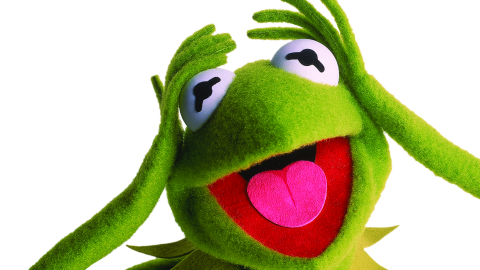 """The Muppet Show made him a star, but <strong>Kermit the Frog</strong> had begun winning younger fans on """"Sesame Street,"""" explaining to kids that """"It's Not Easy Bein' Green"""" for the first time in 1970."""