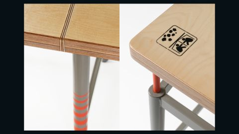 The two designers set out to build an earthquake-proof table that can withstand significant pressure and improve chances of survival.