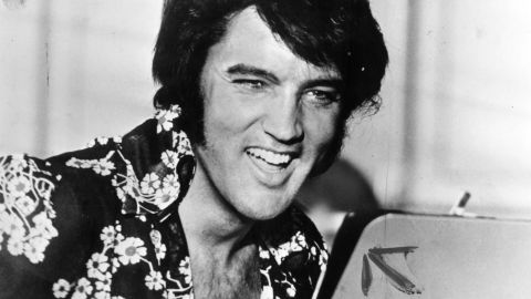 Elvis Presley in the 1970s.