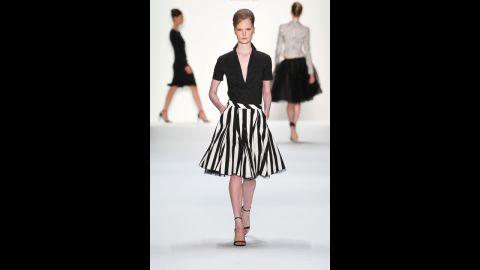 """Full midi skirts, such as this one from Riani, are a cool summer solution that hide a multitude of """"faults,"""" London said. Some even cover down to mid-calf."""