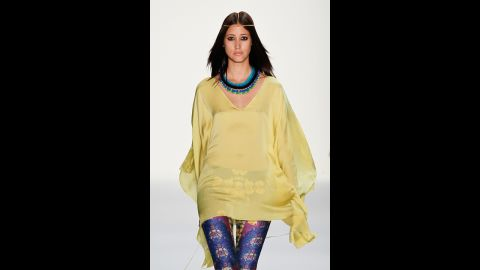 Sheer fabrics, such as chiffon or even lace, are one way people can cover their bodies and not suffer excessive summertime sweat, London said. This is an especially good option for covering arms, when worn as a floaty blouse or extra thin cardigan.