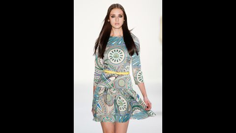 Although they can be tough to find, there are summertime dresses with three-quarter sleeves, London said. Thin, breathable fabrics, such as cotton, make these a comfortable option for summer.