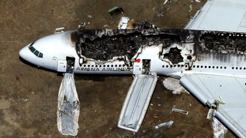"""<a href=""""http://www.cnn.com/2013/07/06/us/gallery/san-fransisco-plane-crash/index.html"""">Asiana Airlines Flight 214</a> crashed at San Francisco International Airport on July 6, 2013. The South Korean airline's Boeing 777 fell short of its approach and crash-landed on the runway. Three people were killed and more than 180 were injured."""