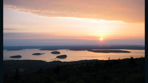 Maine's beloved Acadia National Park is the ninth most-popular national park in the country.