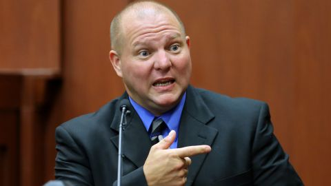 Mark Osterman, a friend of Zimmerman's, testifies on July 8 and describes the type of gun Zimmerman owned.