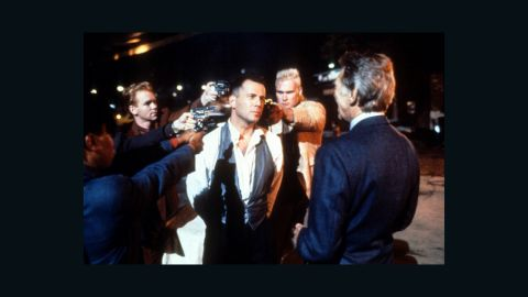 """<strong>""""Hudson Hawk"""" (1991):</strong> Another film done in by a bloated budget, poor marketing and backroom gossip (star Bruce Willis, center, was the subject of several rumors). The film by """"Heathers"""" director Michael Lehmann was one of the biggest bombs of the 1990s. <a href=""""http://johnryansullivan.wordpress.com/2012/01/02/see-it-again-hudson-hawk/"""" target=""""_blank"""" target=""""_blank"""">But more recent takes</a> say it makes a pretty decent screwball comedy."""
