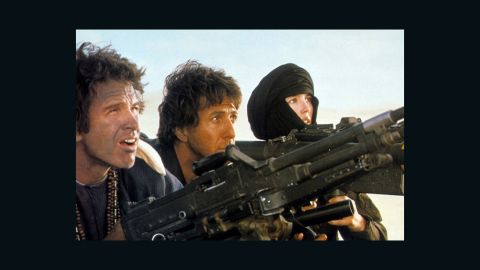 """<strong>""""Ishtar"""" (1987):</strong> The title of this Elaine May film, starring Warren Beatty, left, and Dustin Hoffman as a singing team, has become shorthand for """"turkey."""" But Hitfix's Drew McWeeny stands up for the Hope/Crosby-style comedy: Despite some shagginess, it has hilarious songs and """"really plays,"""" he says. Isabelle Adjani co-starred with Beatty and Hoffman."""