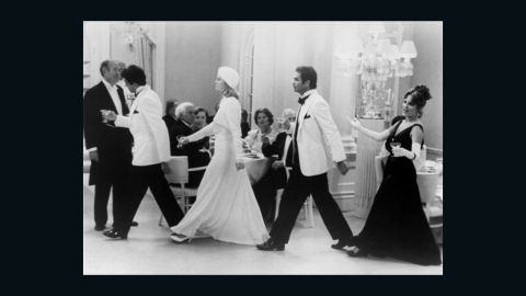 """<strong>""""At Long Last Love"""" (1975):</strong> Peter Bogdanovich's musical was intended as a throwback to 1930s Fred Astaire-Ginger Rogers comedies, complete with Art Deco set design, formally attired swells and the rich refrains of Cole Porter. But a huge budget, gossip about Bogdanovich and leading lady Cybill Shepherd and Bogdanovich's admittedly poor edit doomed the film. It's just been released on Blu-ray and earned praise. The film starred Duilio Del Prete, from left, Burt Reynolds, Shepherd and Madeline Kahn.<br />"""