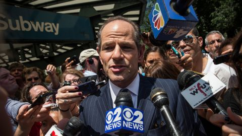 """Former New York Gov. Eliot Spitzer, who resigned in 2008 after it was revealed that he had spent thousands of dollars on prostitutes, says he plans to run for New York City's comptroller.  """"I accepted responsibly for what I did,"""" Spitzer said. """"I spent five years of working, doing useful things, and I hope the public will offer me an opportunity."""" Despite taking knocks from the press, the voters and, in some cases, the law, other politicians have pursued redemption in their public image or, in some cases, a return to office."""