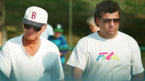 Bulger and Kevin Weeks walk around Castle Island on Boston Harbor.