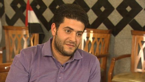 CNN's Reza Sayah talks to Mohamed Morsy's son, Osama Mory, in an exclusive interview.