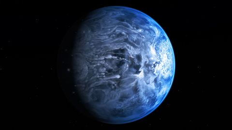 There are thought to be billions of planets in our galaxy. Hundreds have been discovered since the moon landings. An artist's illustration shows an exoplanet called HD 189733b -- a huge, hot gas giant that is about 63 light years from us and where it possibly rains glass.