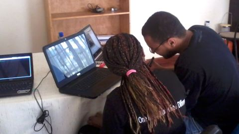 Chumo says a pilot program is already in place to help young techies come together and improve their programming skills.