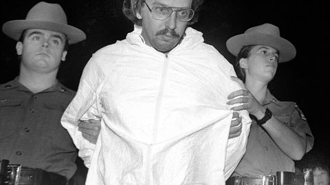 Joel David Rifkin was stopped by police for driving without a license plate when a body was found in his pickup. Rifkin killed 17 women in New York between 1991 and 1993 and was sentenced to life in prison.
