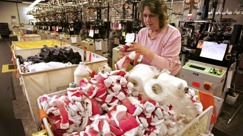 """A surprising amount of American companies are dedicated to making socks, including <a href=""""http://www.wigwam.com/"""" target=""""_blank"""" target=""""_blank"""">Wigwam Mills</a>, which has been in production in Sheboygan, Wisconsin, for more than 100 years."""